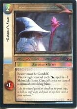 Lord Of The Rings CCG Foil Card MoM 2.C22 Gandalf's Staff