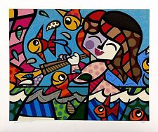 "ROMERO BRITTO ""NEPTUNE'S DAUGHTER"" 