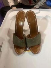 Rare vintage Sexy Casadei Monique Italian heels Cork Cone Heel Size 39 Wow Sexy