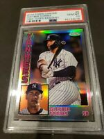 2019 Topps Chrome #5- Gleyber Torres Rookie Card! PSA GEM MINT 10!