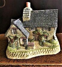 """Vintage David Winter Cottages ® """"The Gillie'S Cottage"""" - In Original Box - Mint"""