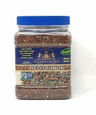 Red QUINOA, Organic, Non-GMO with Protein, Fiber, and Iron,Kosher,24 oz