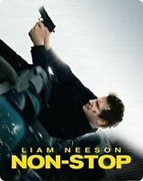 Non-Stop - Limited Edition Steelbook [Blu-ray] [2014] [DVD]
