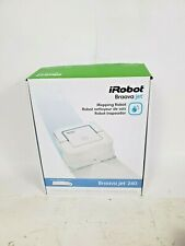 UNIT ONLY -  TESTED iRobot Braava Jet 240 Mopping Robot w/10 Extra Pads