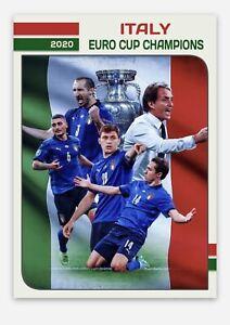 Italy 2020 UEFA Euro Soccer Champions Custom Commemorative Trading Art Card