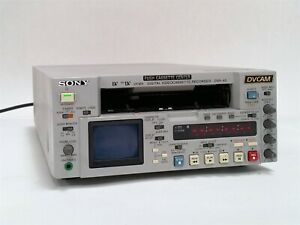 SONY DSR-45 DIGITAL DVCAM DV MINI-DV VIDEO CASSETTE PLAYER RECORDER NTSC VCR