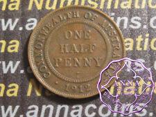 Australia 1912 George V Half Penny X1, Average Circulated Condition