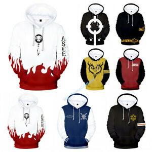 Anime One Piece Luffy Ace Trafalgar Law Cosplay Hoodie Sweatshirt Pullover Tops