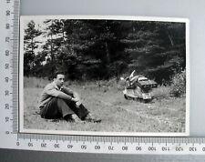 Vespa, Motorroller, ca.50er Jahre Originalfoto