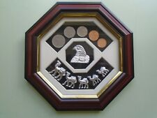 United Arab Emirates Coins in Presentation Mount.