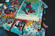 BIRTHDAY FEET Spiderman Cake FOUND PHOTOGRAPH Color FREE SHIPPING Snapshot 86 10