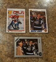 (3) Felix Potvin 1990-91 7th Inning Sketch Upper Deck 1991-92 Rookie card lot RC