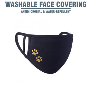 Paw Print Paws Personalised Premier Face Mask Adults Youths Reusable Breathable