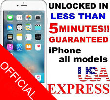 APPLE IPHONE 6+ | 6 | 5S | 5C | 5 AT&T SEMI PREMIUM FACTORY UNLOCK CODE SERVICE