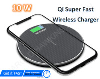 Wireless mobile Charger Fast Charging Pad For Andriod iPhone 12/11 X XR XS Max 8