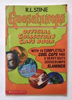 Goosebumps Collector's Caps Book (Book only) R.L. Stine, Scholastic, Collectible