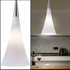 Glas Design Hänge Strahler Decken Lampe Ess Zimmer Beleuchtung Pendel Leuchte