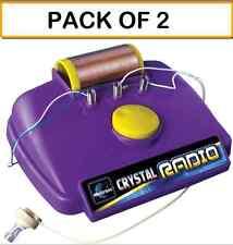 (PACK OF 2) ELENCO MX-901C CRYSTAL RADIO KIT