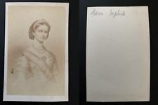 Marie-Sophie Reine de Naples et des Deux-Siciles, née duchesse en Bavière Vintag