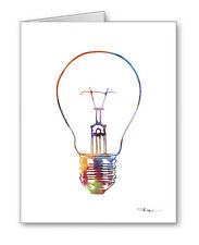 Light Bulb Note Cards With Envelopes