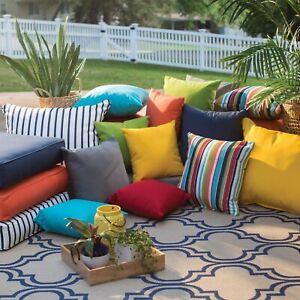 """Indoor Outdoor Waterproof Cushions Covers Pallet Furniture 45cm x 45cm / 18x18"""""""