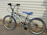 Dyno Blaze Bike Vintage 90's BMX Blue COOL COLOR NEEDS REFURB Project Bike EL