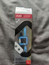 Trion Z Duo X Loop Polarised Ionic Bracelet. Black And Blue/Azure Size Large