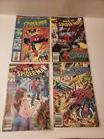 Lot of 4 Web of Spider-man Comics - Marvel Comics