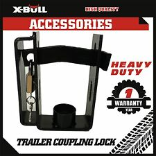 Heavy Duty Coupling Lock with 2 stage Locker and Keys For Caravan Trailer Part