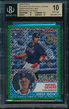 2018 Topps 1983 Rafael Devers Green RC Silver Pack Chrome #20 BGS 10 Pristine