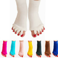 Women Five Finger Toes Ankle Yoga Socks Anti Slip Cotton Soft Split Toes Socks