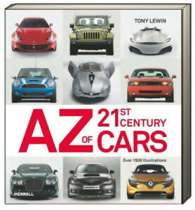 AZ of 21st Century Cars by Tony Lewin over 1500 illustrations (Paperback)