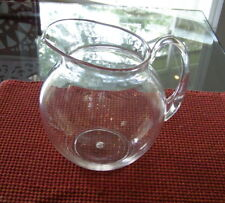 New! Pottery Barn Classic Clear ACRYLIC Outdoor Pitcher
