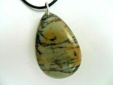 Lovely Picasso  Jasper  Pendant  Necklace