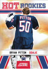 10/11 SCORE HOT ROOKIE RC #545 BRYAN PITTON OILERS *3486
