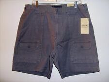 Great Northwest Size 36 Gray Pleated Front Pocketed Shorts