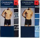 NWT 3 Pk Calvin Klein Men's Boxer Briefs Underwear Soft Microfiber Pick