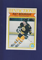 Ray Bourque IA HOF 1982-83 O-PEE-CHEE OPC Hockey #24 (NM) Boston Bruins