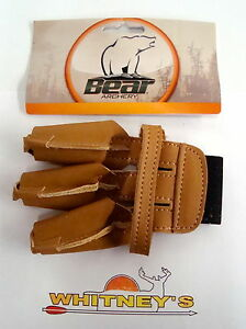 Bear Archery Traditional Bow Equipment Shooting Glove Medium AT11MGM
