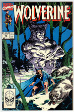 Wolverine 25 (06/1990) VF Condition Jim Lee Cover