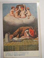 München - Burschenschaft Cimbria 1913 - Ergo bibamus  Schlafender Student träumt