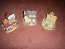 3 Buildings By Liberty Falls collection Ah90, Ah104, Ah91. Lot # 3