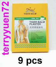 Tiger Balm Medicated Plaster Cool pain relief 10 x 14cm 9 pcs