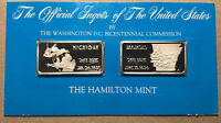 The Official Ingots of the United States, Arkansas and Michigan, Silver Bar