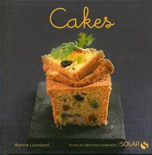 Livre Cakes Martine Lizambard book