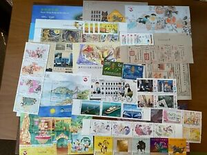 MACAO-CHINA - 2018-  WHOLE  ALL YEAR- 47 stamps +11 Souvenir Sheets -MINT