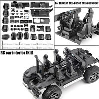 1:10 RC Car Internal Center Cab Für TRAXXAS TRX4 TRX6 BENZ G500 G63 6x6 Auto DIY