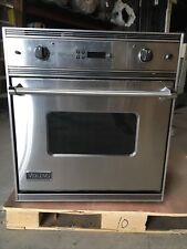 Viking Professional Wall Oven Model VESO177CSS in Good Condition. We Do Freight!