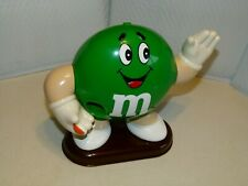 1992 Green M & M Large Candy Dispenser