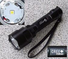 *Weltneuheit* Ultrafire C8 Cree XP-L HI V3 5M LED Taschenlampe 3000lm+Panasonic